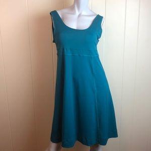 3/$27 EMS Green Fit & Flare A Line Tank Dress